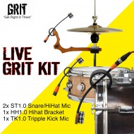 GRIT - Drum Kit - LIVE - microphones (3)