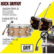 GRIT - Drum Kit - ROCK - microphones (4)