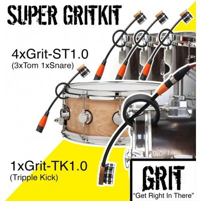 GRIT - Drum Kit - SUPER - microphones (5)