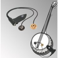 Peterman - dual external -  banjo pickup