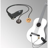 Peterman - dual external -  Flamenco classical guitar pickup