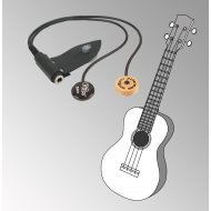 Peterman - dual external -  ukulele pickup