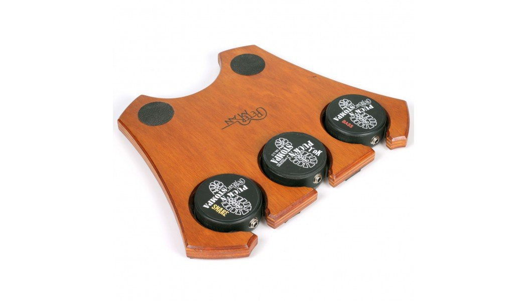 MEGASTOMP- BASS, SNARE & TOK- Apple Crate- Pro stomp box- stompbox