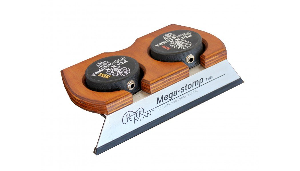 MEGA STOMP TWIN- BASS & SNARE - professional stomp box-stompbox