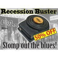 RECESSION BUSTER- PRO 80Hz BASS - professional stomp box-stompbox